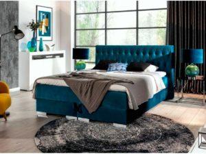 łóżko kontynentalne SOLID